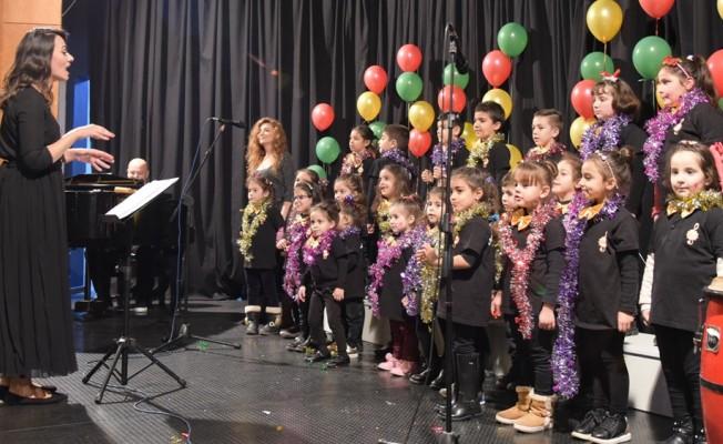 LBO Çocuk Korosu, yeni yıl konseri verdi