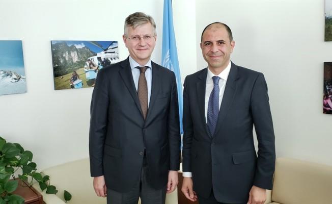 Özersay BM Genel Sekreter Yardımcısı ile görüştü...