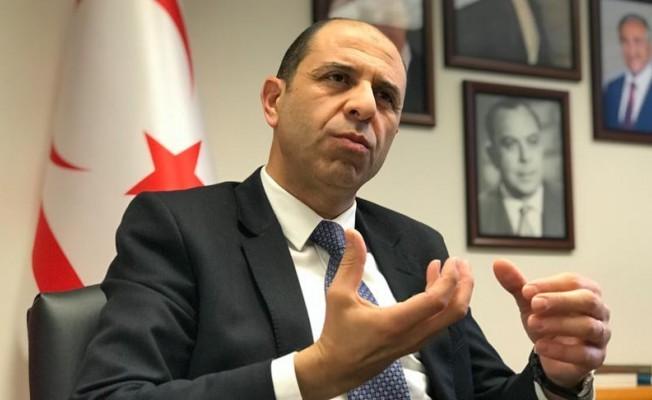 Özersay: Kıbrıs'ta BM'nin askeri misyonuna gerek kalmadı