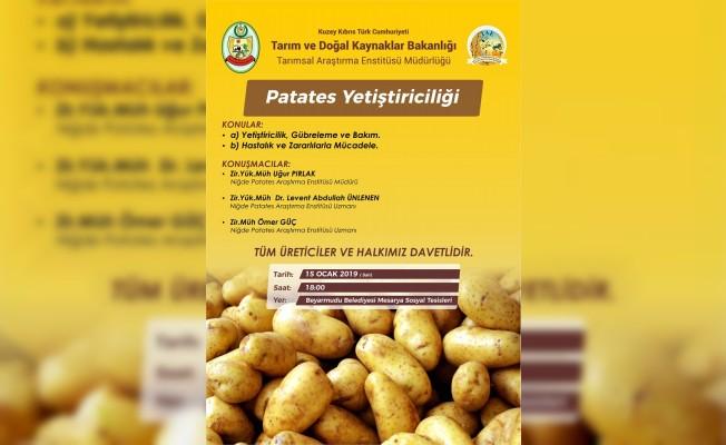 Patates deneme ekimi yapılacak