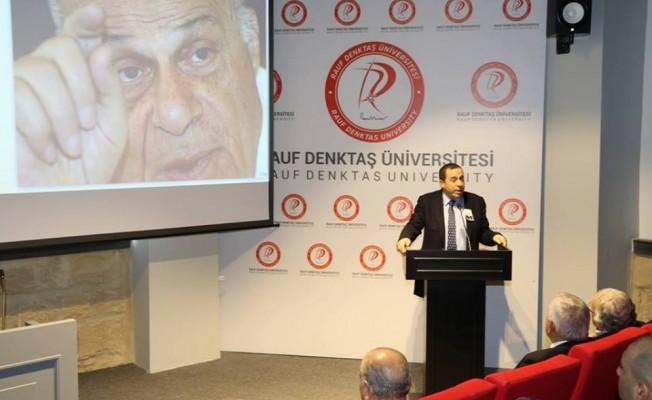 Rauf Denktaş, Rauf Denktaş Üniversitesi'nde anıldı