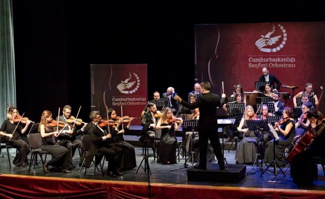 Cumhurbaşkanlığı Senfoni Orkestrası'ndan konser