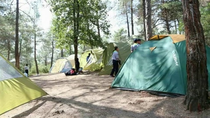 Doğa-İzder kış kampı gerçekleştirdi