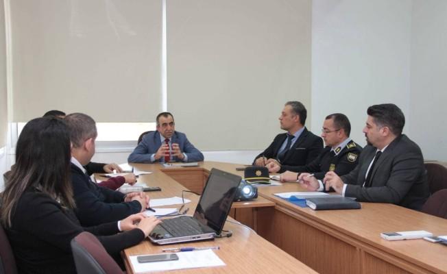 Kent Güvenlik Sistemleri kurulu ilk toplantısını yaptı...