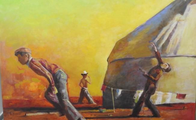 """""""Kırgızistan Sanatçıları Resim Sergisi"""" YDÜ'de açılıyor"""