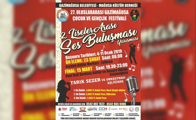 Çocuk ve Gençlik Festivali Ses Yarışması Cuma günü...
