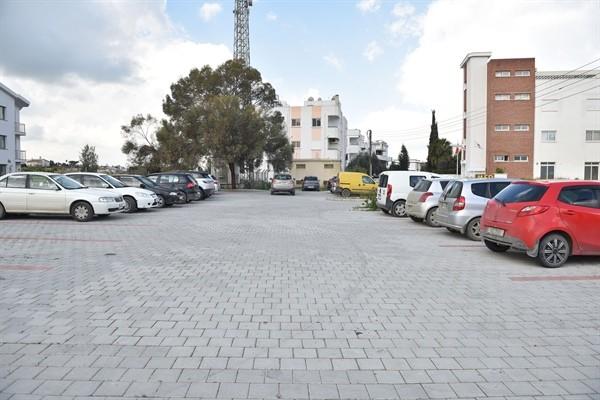 Gönyeli'ye 227 araçlık park yeri
