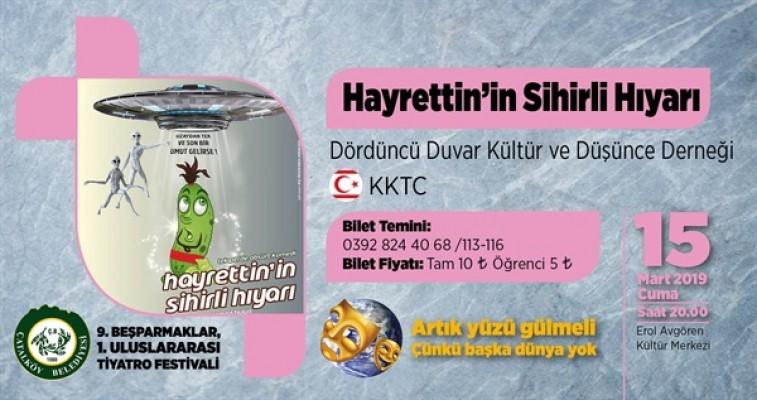 """""""Hayrettin'in Sihirli Hıyarı"""" Çatalköy'de sahnelenecek"""