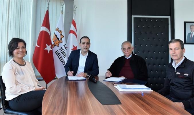 LTB 3 bölgenin kanalizasyon projesi için imza attı