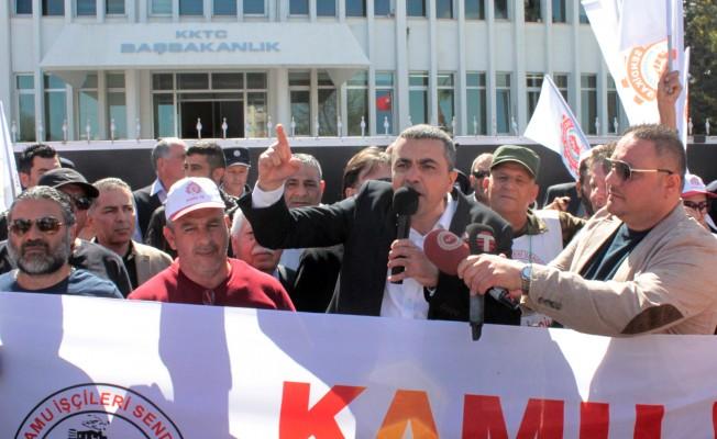 """Serdaroğlu: """"Bizi kırmızı kart göstermeye zorlamayın"""""""