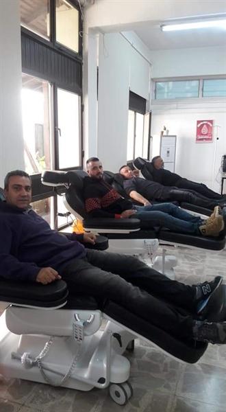 Baf Türk Birliği kan bağışı kampanyası düzenledi