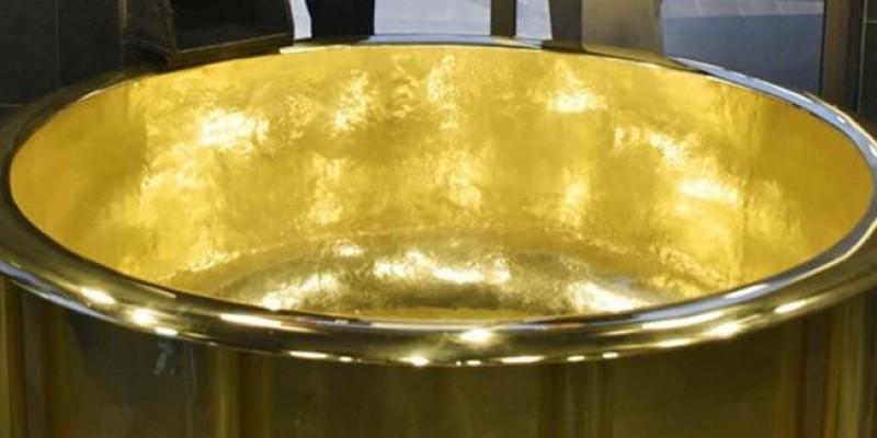 Dünyanın en ağır altın küveti Japonya'da