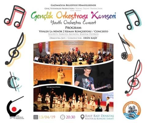 Genç Yetenekler Gazimağusa'da konser verecek