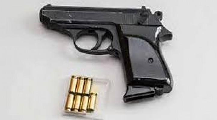 Kanunsuz tabanca ve mermilerle yakalandı