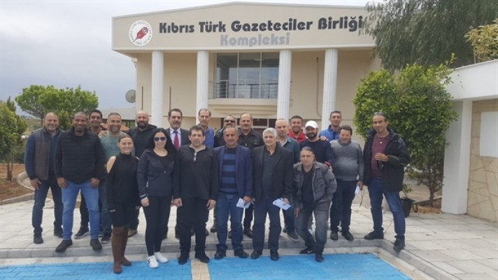 KKTC Haber Kameramanları Derneği Genel Kurulu yapıldı.