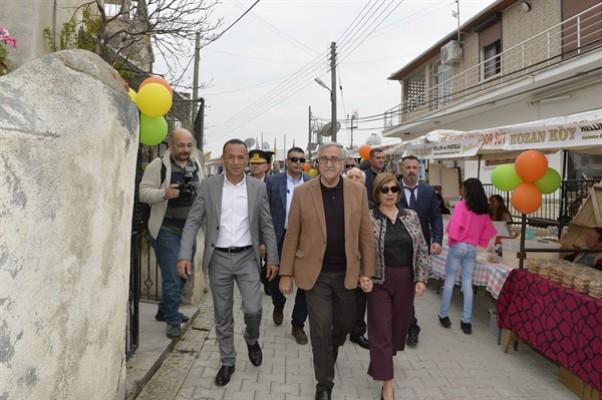 Kozanköy Hellim ve Pastelli Festivali'nin açılışını Akıncı yaptı