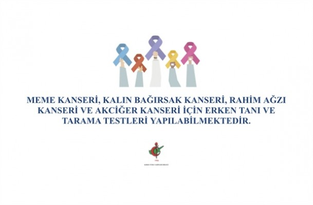 """KTTB """"Kanser Haftası Posterleri"""" hazırladı"""
