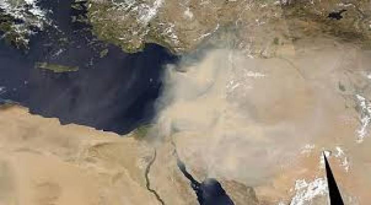 Ülke toz zerreciklerinin etkisi altında