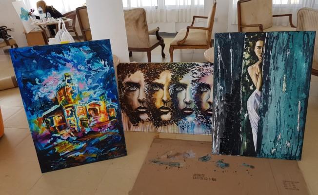 """""""Uluslararası Kadın Ressamlar Buluşması"""" sergisi yarın açılıyor"""