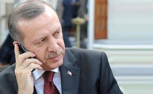 Erdoğan, Tatar'ı kutladı...