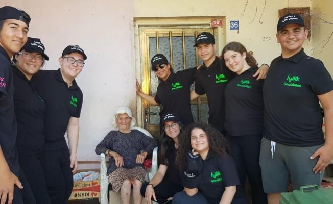 İhtiyaçlı ailelere yardım paketi dağıtıldı