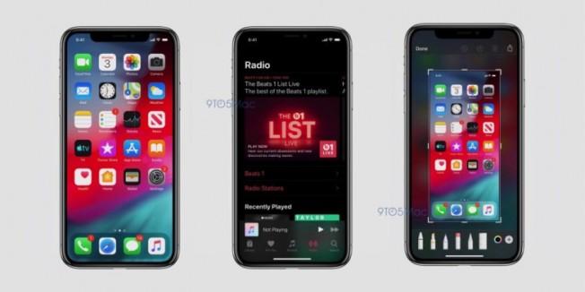 iOS 13'ten İlk Ekran Görüntüleri