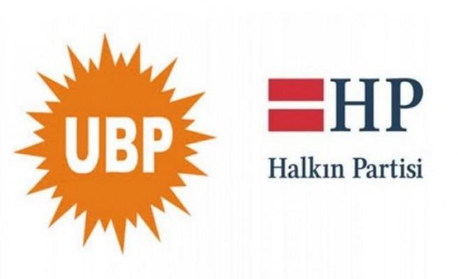 UBP ve HP Heyetleri bir araya geldi...