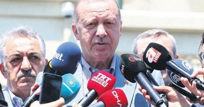 Erdoğan: Kıbrıslı soydaşlarımızın hakkını yedirmeyiz