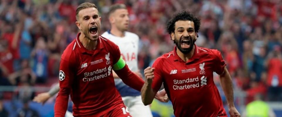 Şampiyonlar Ligi  şampiyonu Liverpool...