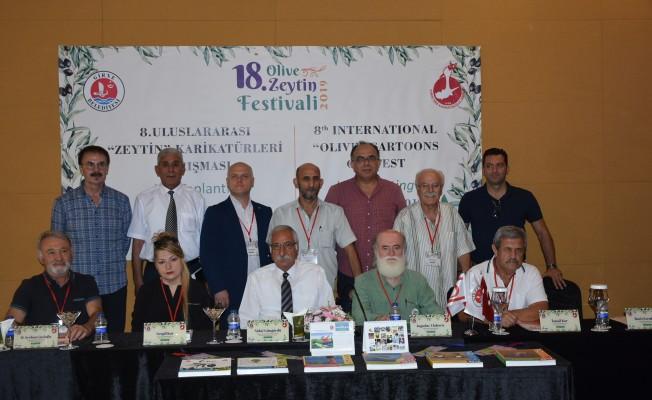 Zeytin Karikatürleri Yarışması'nın tanıtım toplantısı yapıldı