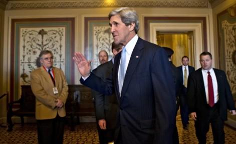 ABD'nin yeni dışişleri bakanı John Kerry oldu