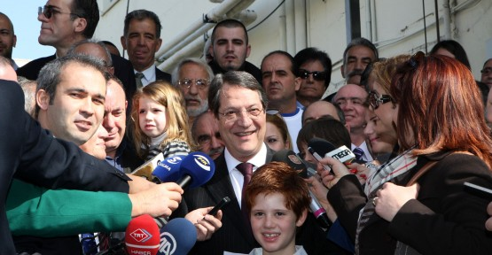 Anastasiadis'den Türkiye'ye mesaj