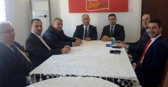 ANDREAS KETTİS, BKP'Yİ ZİYARET ETTİ