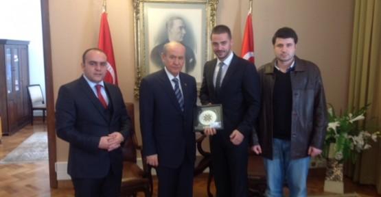 DAÜ Öğrenci Konseyi Başkanı Türkiye'de Önemli Temaslarda Bulundu
