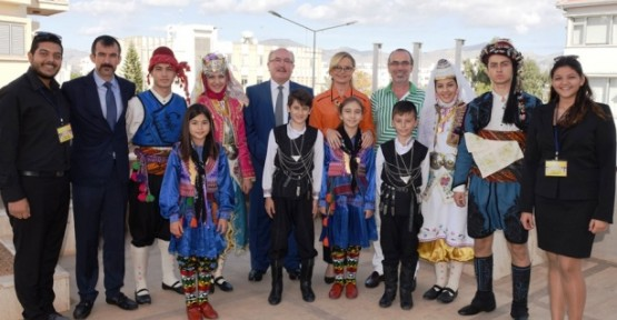DENİZLİ'DEN, GENCAY EROĞLU'NA ZİYARET