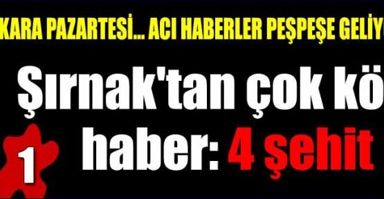 DÖRT POLİS ŞEHİT OLDU!