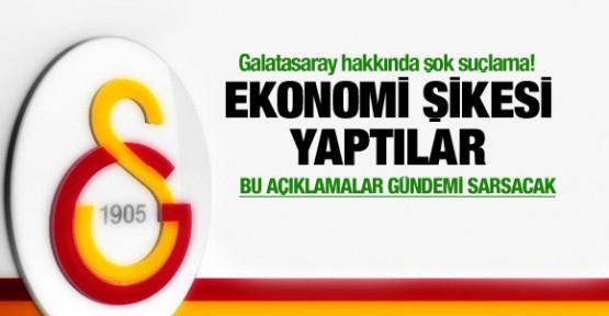 Galatasaray'da ekonomi şikesi iddiası!