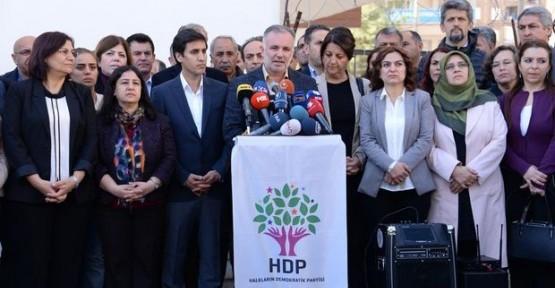 HDP TBMM'DEKİ ÇALIŞMALARA KATILMAYACAK