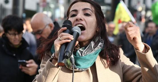 HDP'li vekiller PKK gösterisinde konuştu!