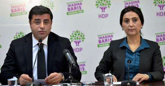 HDP'NİN İKİ BAŞKANI DA TUTUKLANDI