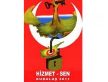 HİZMET-SEN, İRSEN KÜÇÜK'Ü KUTLADI
