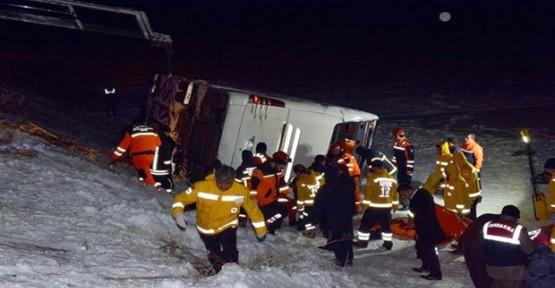 Kayseri'de kaza: 21 ölü 29 yaralı!