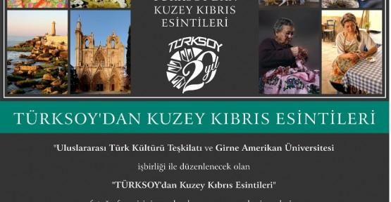"""""""KUZEY KIBRIS ESİNTİLERİ"""" FOTOĞRAF SERGİSİ GAÜ'DE"""