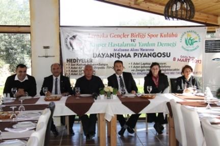 LARNAKA GENÇLER BİRLİĞİ SPOR KULUBÜ'NDEN ÖRNEK DAVRANIŞ