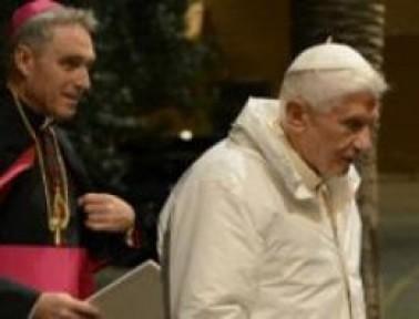Papa meğer bu yüzden istifa etmiş