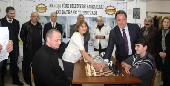 Satrançcılar Bodamyalızade Mehmet Şevket Bey anısına yarıştı