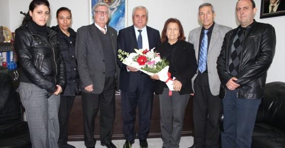 Şehit Aileleri ve Malul Gaziler Derneği CTP-BG'yi  ziyaret etti