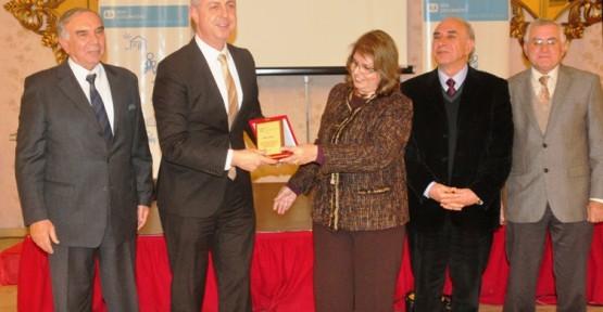 SOS ÇOCUK KÖYÜ'NDEN TELSİM'E TEŞEKKÜR PLAKETİ