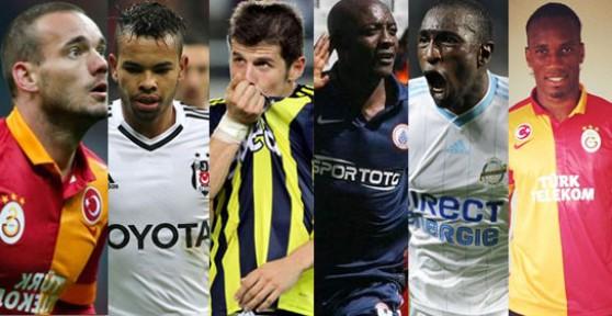 Süper Lig'e Damga Vuran Transferler