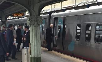 Joe Biden evine trenle döndü